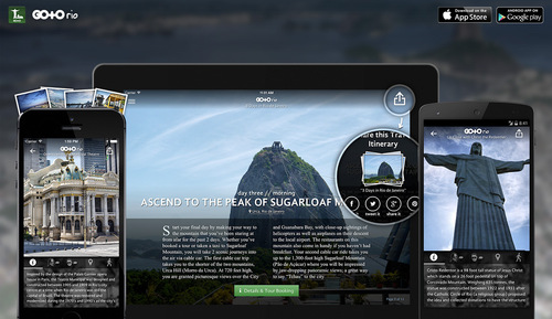 Go To Rio, Travel Guide: iOS & Android