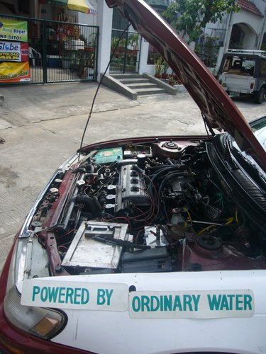 Daniel's Water Powered Car - Manila 2008