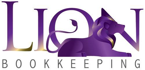 Lion Bookkeeping Logo