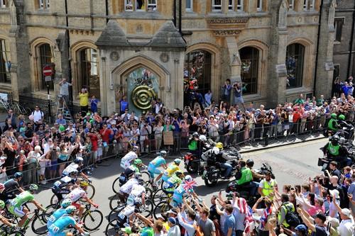 Corpus Clock on the Tour de France route