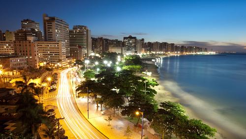 Fortaleza in booming northeast Brazil