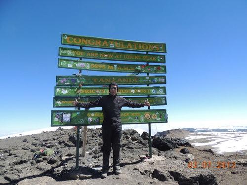 Blair Singer Kilimanjaro