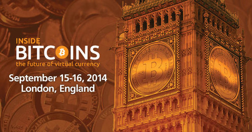 Inside Bitcoins is heading to London!