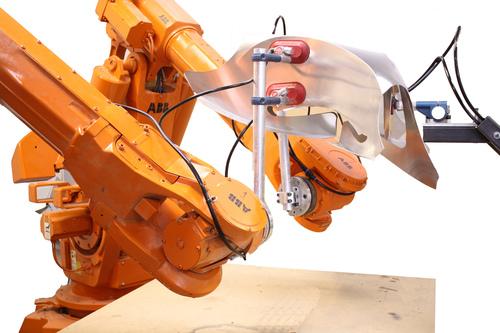 ABB robot at Robofold