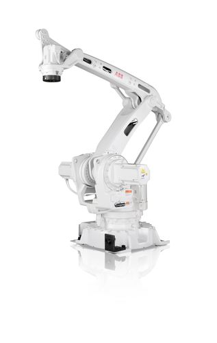 The IRB 460 robot used in palletising