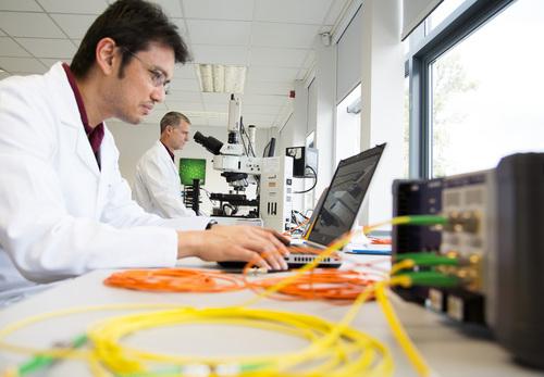 Brand-Rex's new European R&D Laboratory