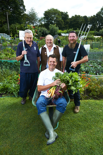 Tim and the National Allotment society