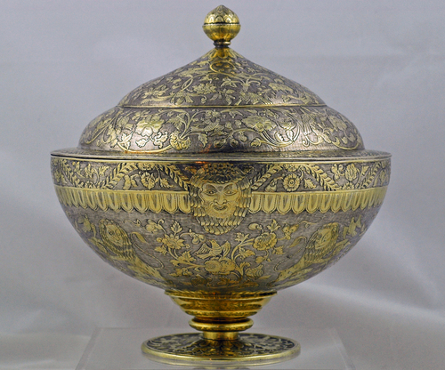 Mughal Parcel-Gilt Soup Tureen c.1775