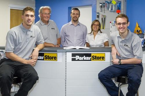 The Sutton-in-Ashfield ParkerStore team