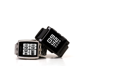 Pebble Smartwatch distributed by Widget