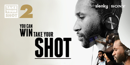 Slenky + Sony Take Your Shot campaign