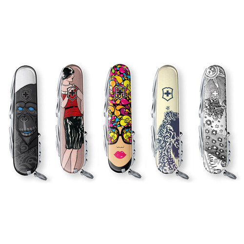 Art Inspired Swiss Army Knives, Saktory