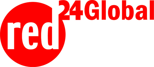 The red24Global logo