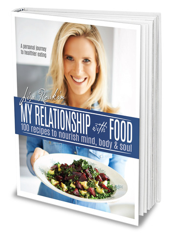 """""""My Relationship With Food"""" Book Cover"""