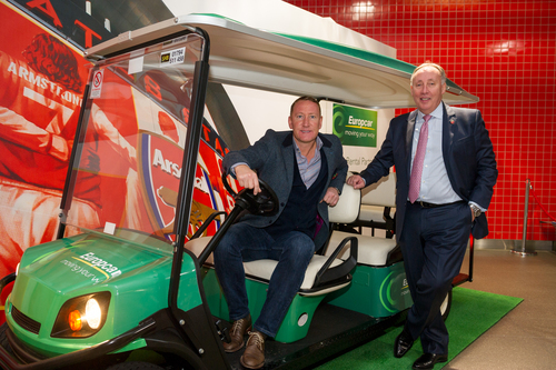 Ken McCall and Ray Parlour, picture 1