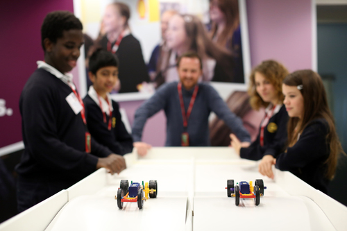 Pupils launch Tomorrow's Engineers Week