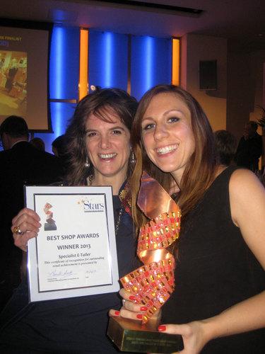 Team MyTights at the 2013 awards