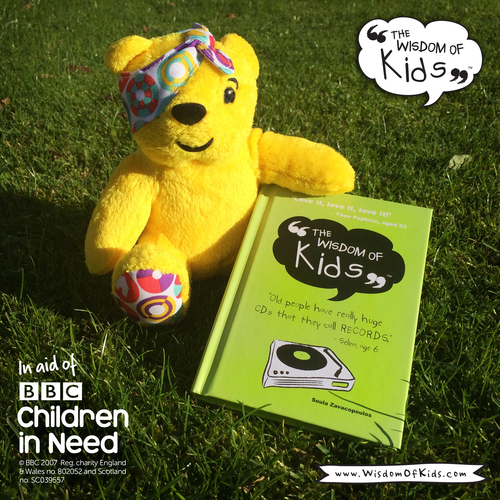 BBC Pudsey and The Wisdom Of Kids Book