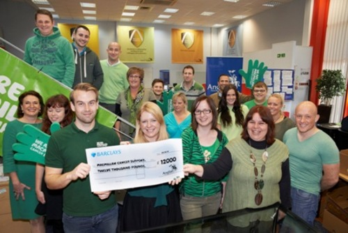 Anglian Home Improvements Staff Get Baking To Raise 12 000 For Macmillan