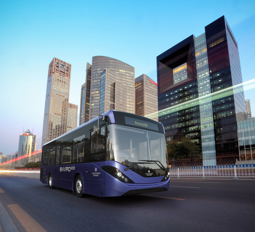 Alexander Dennis launching hybrid buses