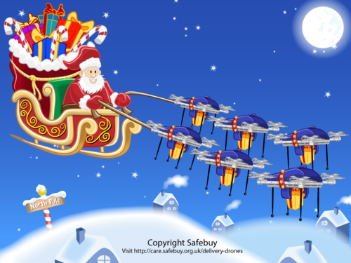 Does Santa need Drones this Christmas?