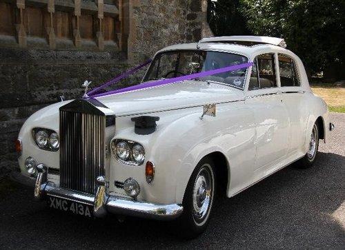 Stunning wedding cars
