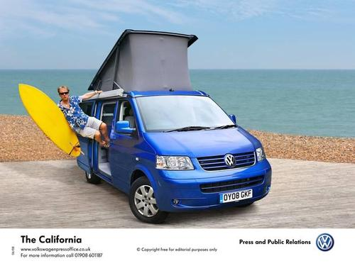 Chris Haslam and his VW California