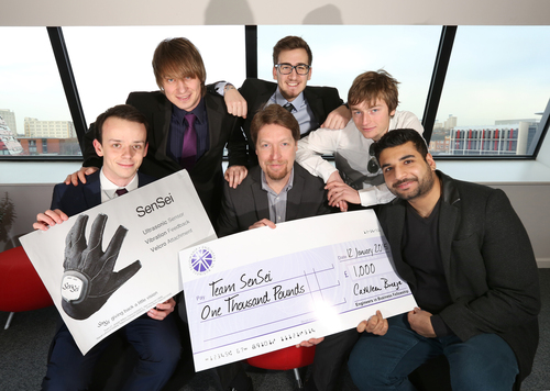 Winners - SenSei Glove creators
