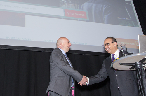 Chris Wheeler & Theo Paphitis On Stage