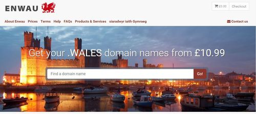 Enwau.com meaning 'names' in Welsh
