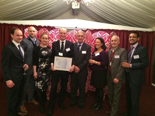 Thompson Taraz collect their EISA award