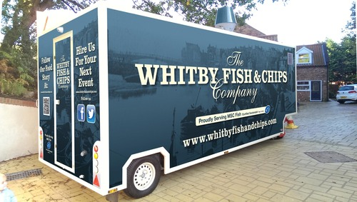 Whitby Fish & Chips Company Trailer