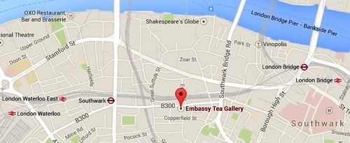 Directions to The Embassy Tea Gallery