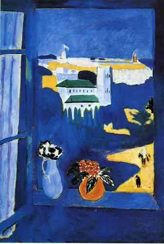 Window at Tangier, Henri Matisse 1912