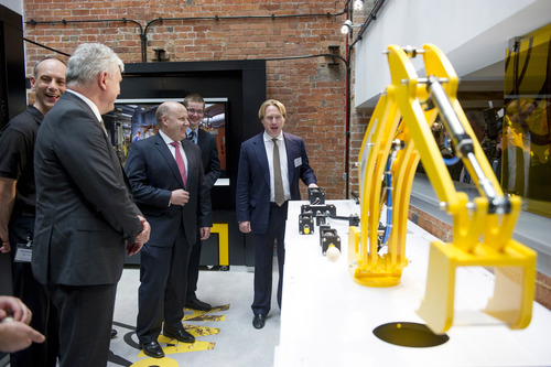 Dignitaries at apprentice launch event