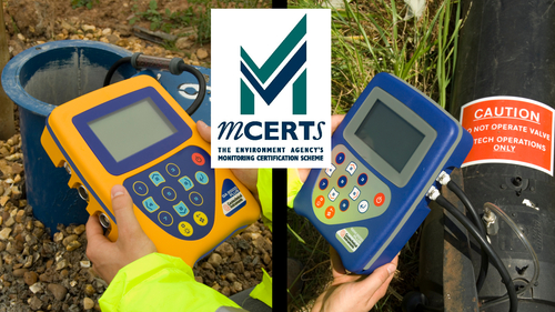 Portable MCERTS landfill gas analysers