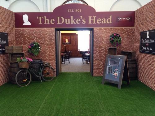 Vivid sponsors Duke&#039s Head at IHS London