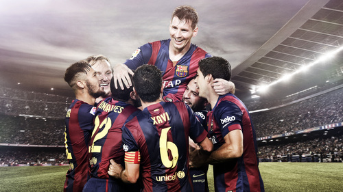 FC Barcelona and Beko are team mates