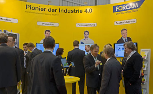 Forcam at Hannover Messe Hall 7 Stand A11.