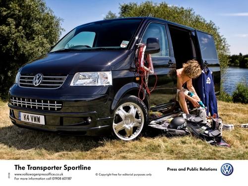 Matt and his VW Transporter Sportline