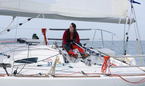 Katie Miller sailing