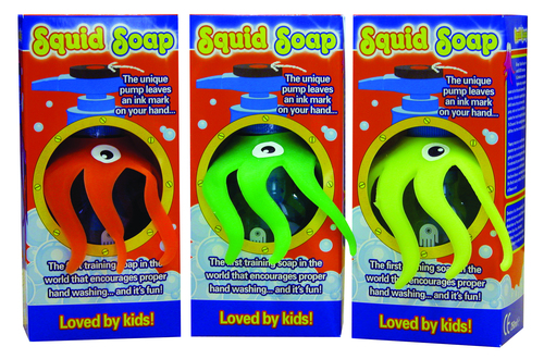 New Squid Soap now launched in the UK