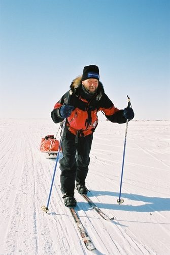 Jim McNeill in Resolute Bay
