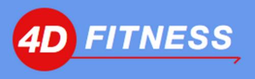 4D Fitness Logo