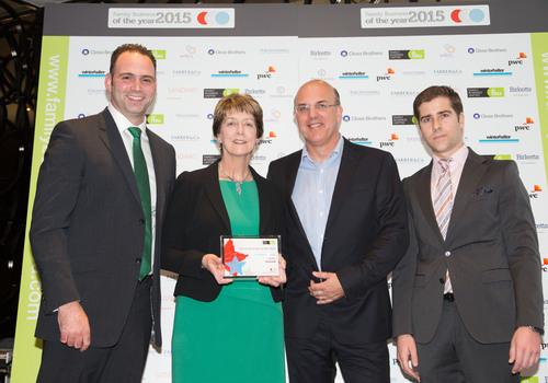 Fusco's receiving Family Business Award