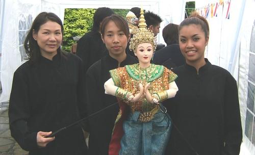 Thai Puppeteers/Dancers