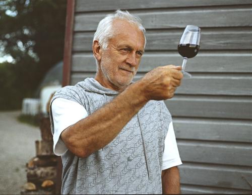 Proprietor and Winemaker Roy Cook