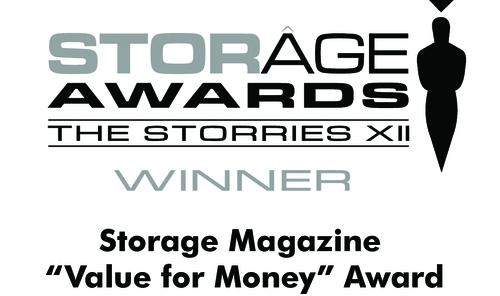 The 2015 Storage Awards Winner Logo