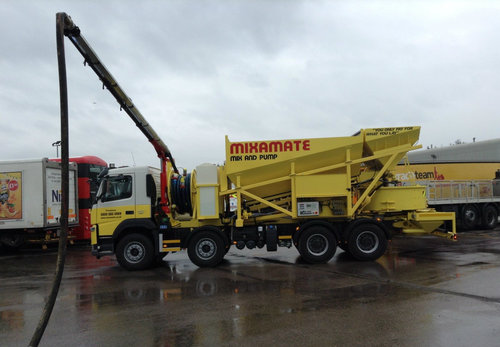 Mobile Concrete Pumping Truck