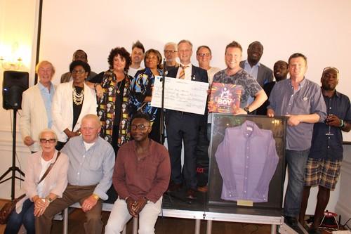 Gloria Jones hosts charity launch